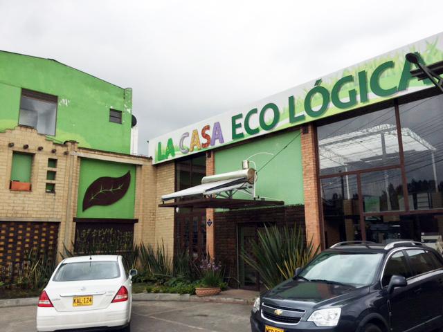 La casa ecologica - Chia-portada